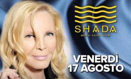 Shada, la cena di ferragosto e il concerto di Patty Pravo rinviati a venerdì 17 Agosto