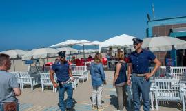 Ferragosto, la polizia rafforza i servizi a Civitanova, Porto Recanati e Porto Potenza
