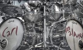 La batteria di Carl Palmer allo Sferisterio di Macerata