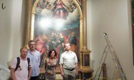 Mogliano, studiosi di prestigio in visita all'Assunta di Lorenzo Lotto