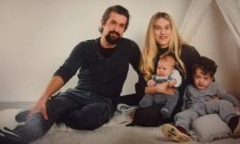 Papà Fabio e la piccola Anita Beatrice: un giorno solo, auguri doppi