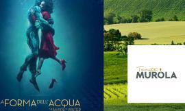 """""""Cinemadivino"""" approda ad Urbisaglia: il 7 settembre a La Muròla degustazione di vini e proiezione del film """"La forma dell'acqua"""""""