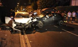 Corridonia, violento scontro fra due auto nei pressi dell'ippodromo