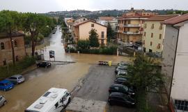 Bomba d'acqua sul maceratese: numerosi gli allagamenti, anche in superstrada (FOTO)