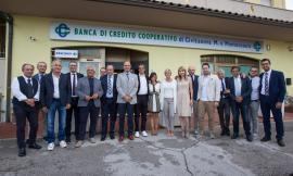 Bcc Civitanova e Montecosaro: taglio del nastro per la sede distaccata di Castelfidardo