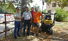 Pieve Torina, la solidarietà della comunità di Belforte e della ditta Girotti di Macerata