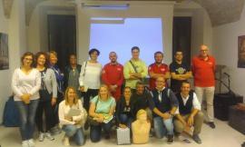 Treia, conclusi i corsi per l'utilizzo del defibrillatore
