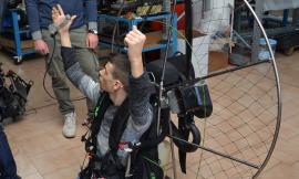 Parapendio più sicuro: l'idea innovativa sviluppata nelle Marche