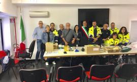 San Ginesio, la Protezione Civile di Mantova dona un ponte radio