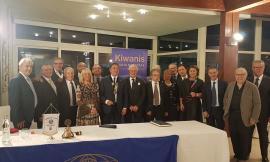 Macerata, l'avvocato Pistarelli nuovo presidente del Kiwanis Club