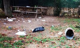 Civitanova, parco di via Saragat devastato dai vandali