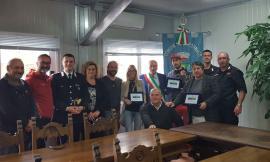 Valfornace: consegna targhe riconoscimento a cittadini