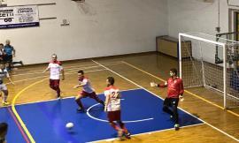 Calcio a 5: doppio pareggio per il Borgorosso Tolentino