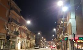 Castelraimondo: sostituita con lampade a led parte dei corpi illuminanti pubblici
