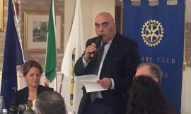 Il diabetologo Brandoni e il direttore dell'AV3 Maccioni ospiti della conviviale promossa dal Rotary Club di Macerata