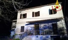 Tragedia a Sarnano: muoiono mamma e figlio in un incendio