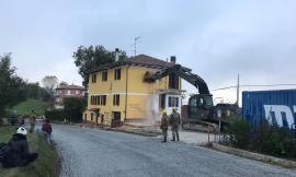 E' arrivato l'esercito a San Ginesio: al via le demolizioni