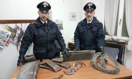 Montefano, in scooter per rubare grondaie: arrestato