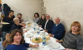 Monte Cavallo, visita in città per la delegazione di Istanbul