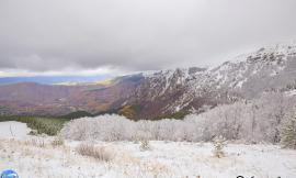 Un giorno con le prime nevi di Frontignano
