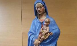 La Madonna delle rose di Ussita salvata dal sisma è stata restaurata