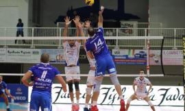 Volley, Serie A2: Potenza Picena capitola in tre set contro Mondovì nel posticipo