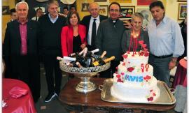 Cingoli, l'Avis festeggia 50 anni di solidarietà