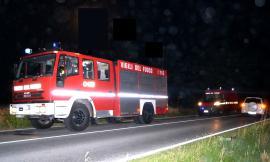 Morrovalle, fiamme in una cabina dell'Enel: Trodica rimane al buio per oltre 2 ore
