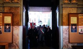 Tantissimi fedeli alla cerimonia di riapertura della Basilica di San Nicola da Tolentino