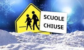 San Ginesio, le scuole restano chiuse per allerta neve