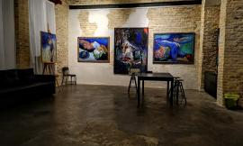 Successo per l'inaugurazione Mostra di Ruudt Wacekrs all'Officina delle Arti a Corridonia