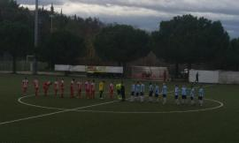 Trodica calcio, doppio Cammertoni lancia la Cluentina: è crisi per la squadra di mister Michettoni