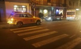 Corridonia, donna perde il controllo dell'auto e finisce contro un'abitazione (FOTO)