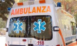 Potenza Picena, auto finisce nel fosso: il conducente al pronto soccorso