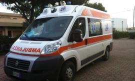 Trodica, violento frontale tra due auto: quattro feriti all'ospedale
