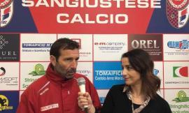 Sangiustese calcio, le parole di mister Senigagliesi in vista della sfida contro Campobasso