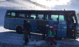 Frontignano ritorna a vivere: ecco le prime sciate dopo il terremoto (VIDEO e FOTO)