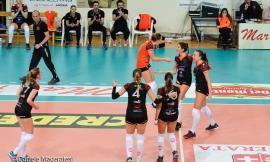 Volley, Roana CBF HR Macerata: San Giustino travolto in quattro set (VIDEO)