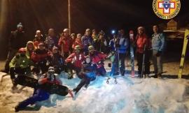 """Sciando """"Sotto le stelle"""" a Sassotetto: la montagna vive anche di notte (FOTO)"""