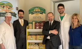 Il Senatore Paolo Arrigoni in visita a La Pasta di Camerino