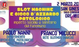 """San Ginesio, G-Lab organizza l'incontro """"Slot Machine e gioco d'azzardo: impatto sociale e sanitario del fenomeno"""""""