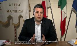 """Matelica, il sindaco Delpriori ospite di Giletti: """"Multato per aver salvato delle opere d'arte"""" (VIDEO)"""
