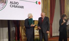 Aldo Chiavari, titolare della Dafram, nominato Commendatore dal Presidente Mattarella