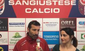 Sangiustese, intervista a Mister Senigagliesi alla ripresa degli allenamenti