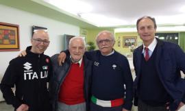 Corridonia, incontro con Giorgio Farroni: il campione del mondo di ciclismo paralimpico nelle scuole