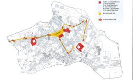 San Ginesio, cambia la viabilità in centro storico