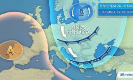 Meteo: temperature in rialzo nei prossimi giorni e poi di nuovo inverno
