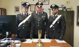 Corridonia, rubano una lampada votiva in Chiesa: i Carabinieri denunciano due giovani