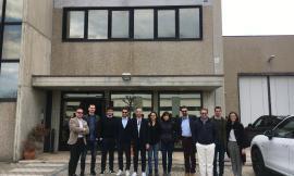 I giovani di Confindustria Macerata in visita allo stabilimento della Bticino di Teramo