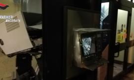Montefano, esplosione nella notte: malviventi assaltano un bancomat
